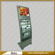15 to 26 inch magazine brochure leaflet newspaper holder advertising display stand advertisement marketing