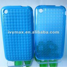 Transparent color Case for IPhone 3gs