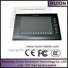"Huion 10*6.25"" 4000 IPL 2048levels digital drawing tablet"