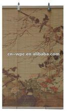 beautiful roller bamboo blinds print