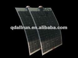 Flexible solar module 12v 100w