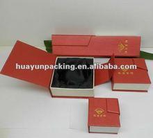 2012 Hot Cardbaord Silver Jewellery Gift Box Set