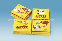 10g Kingbo Brand Beef,Shrimp and Fish Bouillon Cube