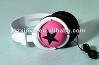 Mix-style star music headphone