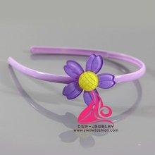2012 acrylic flower hair accessories