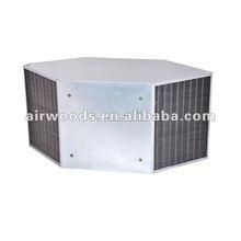 Higher heat efficiency 1-3m/s aluminum foil heat exchanger