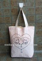Reusable promotional 100 cotton gift bag