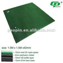 Good quality artificial grass golf mats range mat