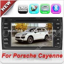 7'' 2 din HD Touch Screencar car radio dvd cd gps for Porsche Cayenne With Bluetooth & Radio