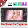 7'' HD Touch Screen car dvd gps 2 din for Porsche Cayenne With Bluetooth & Radio