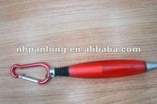 fashion carabiner ballpoint pen