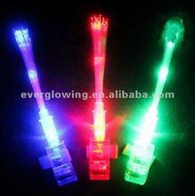Newest style hot sell led fiber light LED magic light toy LED finger light wholesale