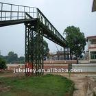 Steel structure building bridge