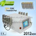 Elétrica celulite massageador ultrashape cavitação lipoaspiração equipamento