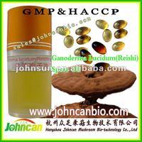 Reishi spore oil, reishi spore extract, ganoderma lucidum spore oil