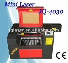 desktop arts/crafts laser engraving machine JQ4030 price