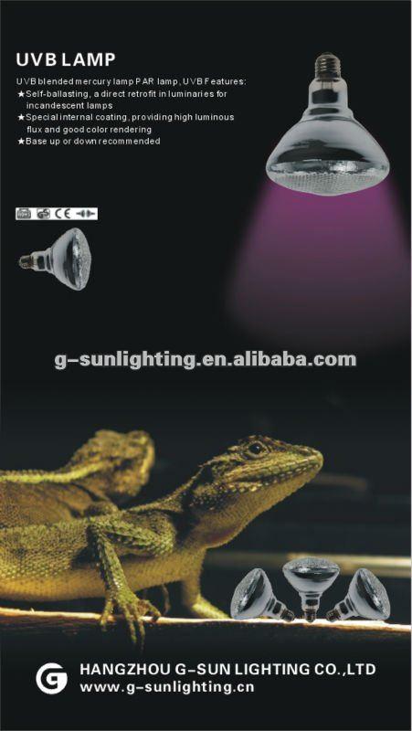 PAR38 UVB Ultraviolet Rays Lamp for Reptile