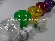 Cheap Cabochons plastic outdoor light cover FOR E14 Amusement turbo light bulb, led carnival light, led fairground lighting