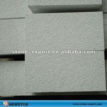 light grey sandstone sandblasted