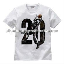 fashion custom sport logo quality wholesale t shirts