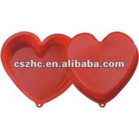 2012 Popular heart shaped pizza pan