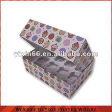 Cupcake Paper Packaging Box