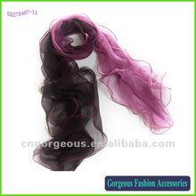 Hand Hemmed Silk Scarf