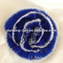 Genuine Rex Rabbit Fur Flower in Good Quality
