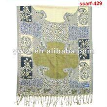 borla antiguos bufanda de chales