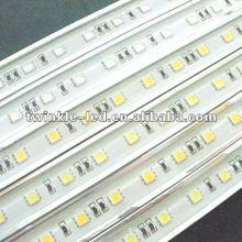 DC24V SMD 5050 60LEDS white 7.2w/m high brightness white pcb ip65 Waterproof led light bar.string bar. led ornaments and lights