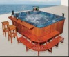 Advanced Technology High Quality Long Useful Life Pop-up Lcd Tv Outdoor Hot Tub