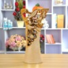 Ceramic crane shape art vase gift 17118