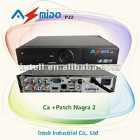 Newest MODEL support AMAZON satellite AZMIDO P22 HD Satellite Receiver for South America