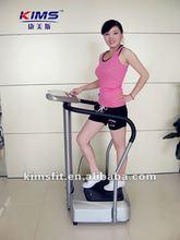 Deluxe crazy fit massage/vibration plate/platforms/fitness massager CE/KMS001C