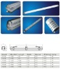 IP65 T8 1x18w fluorescent lighting fitting/LED light