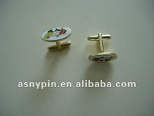 promotion enamel cuff links gift