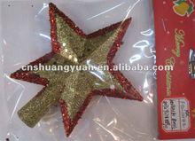 2012 golden Xmas star