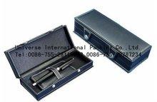 2012 hot sell custom chinese black cardboard pen packaging box
