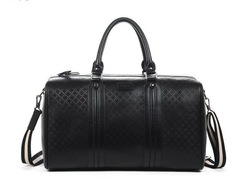 Large capacity luggage bags leather bag leather men's business travel bag