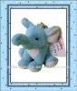 Elephant Stuffed Animal Toy Plush Key Chain for Promotion