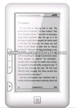 4.7inch TFT touch screen E-book