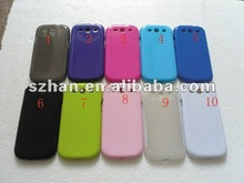 New Japan/South Korea Design Glossy TPU Silicone Gel case for Samsung Galaxy S3 III i9300