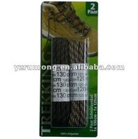 Blister pack sport shoelace