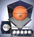 Caja de presentación clara para el baloncesto& de béisbol