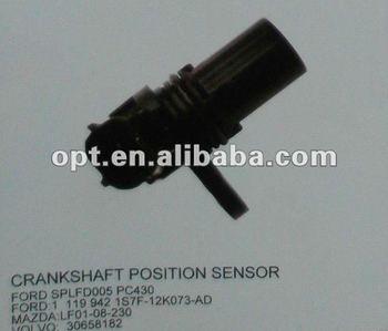 Crankshaft position sensor for Ford/Mazda/Volvo SPLFD005, PC430, 1 119 942, 1S7F-12K073-AD, LF01-08-230, 30658182