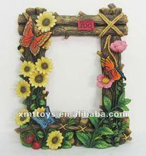 resin plant theme photo frame