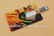 wholesale promotional card type usb flash drive1gb 2gb 4gb 8gb,custom logo is optional