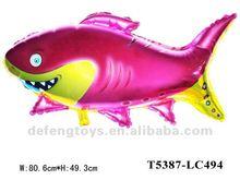 foil balloon shark