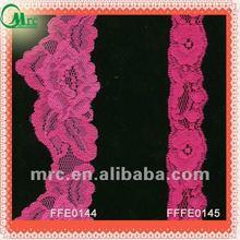 Fashion garment accessory stretch embroidery lace trim
