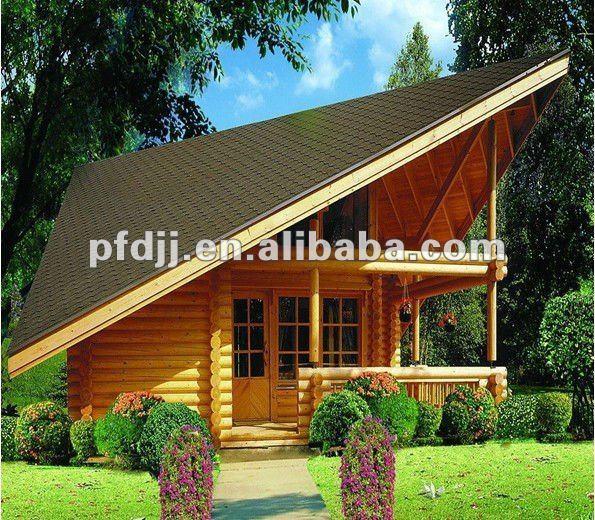 Alta calidad moderna prefabricada casa de madera casas - Casa prefabricada moderna ...